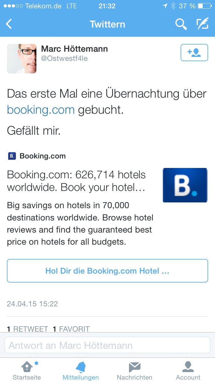Hotels arbeiten an ihrer Bedeutungslosigkeit im Netz