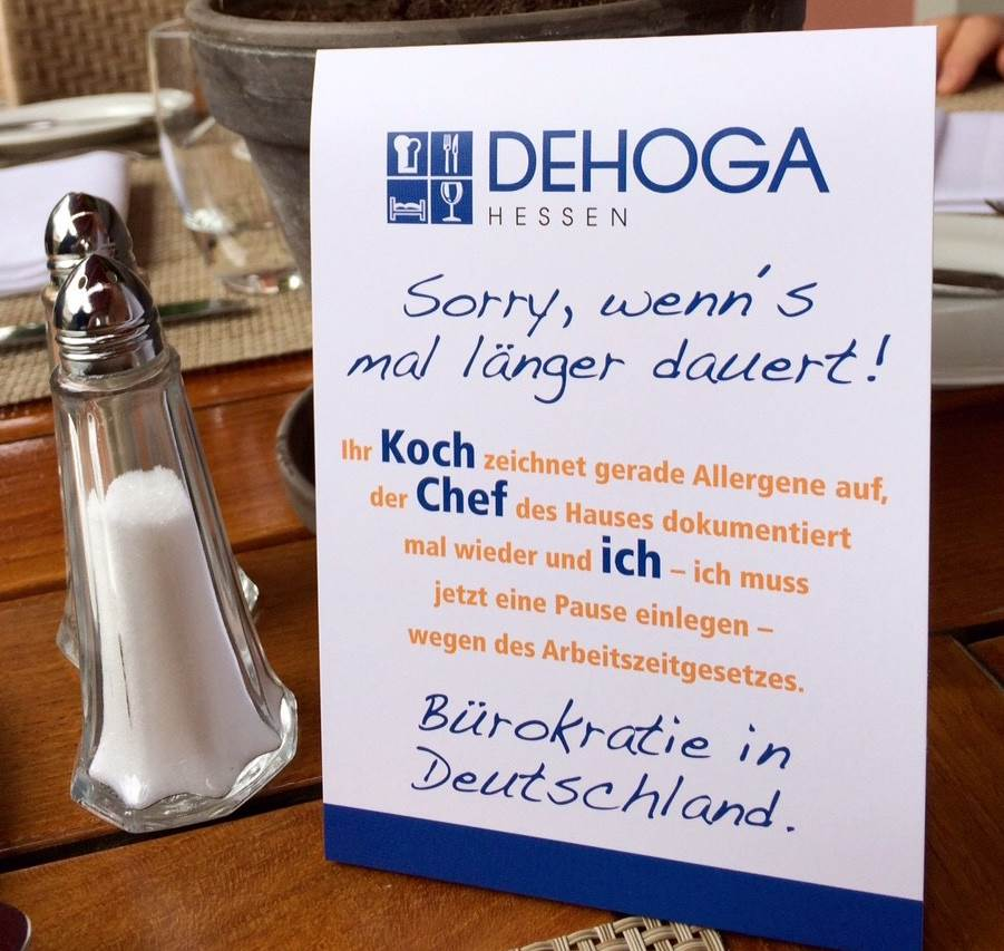 Bürokratie in Deutschland!