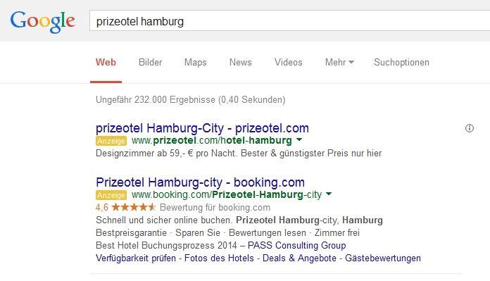 Brand hijacking booking.com
